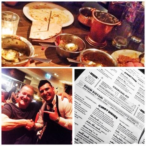 Cleared up, Mike & Amjad, the glasses friendly menu