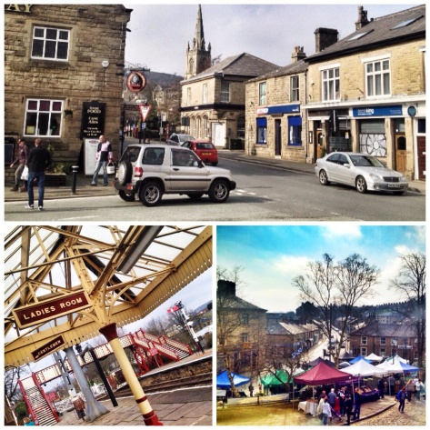 Ramsbottom and it's market square