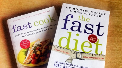 The fast cook book and the Fast Diet book