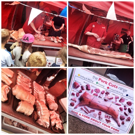 Big Johns butchery demo