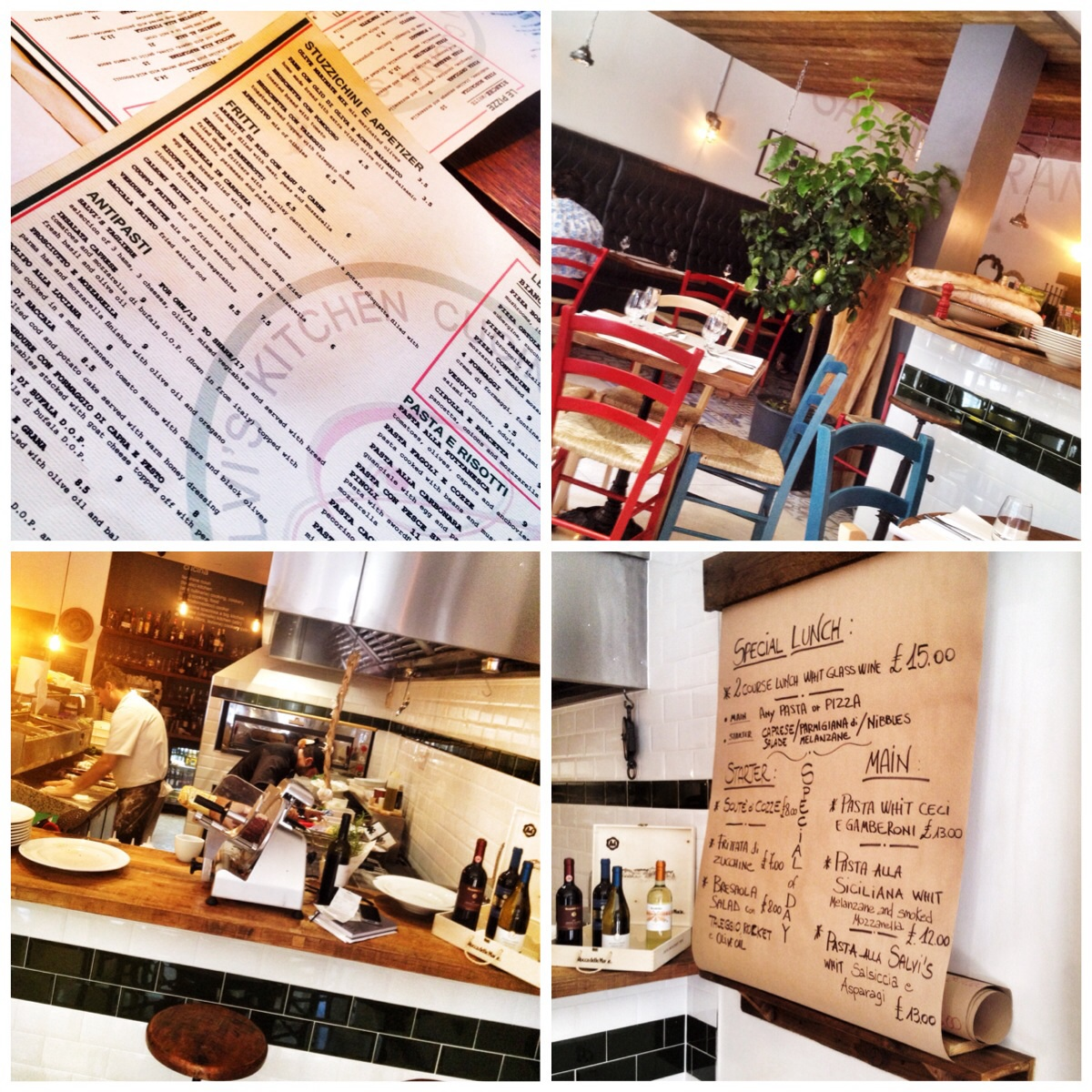 Kitchen Chairs For Cooking: Salvi's Cucina – Manchester