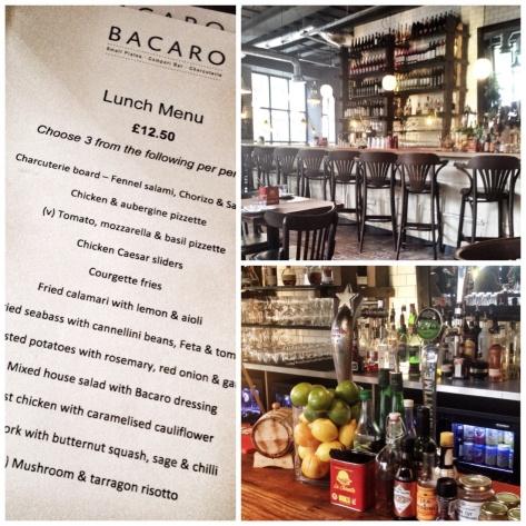 the lunch menu, smart interior