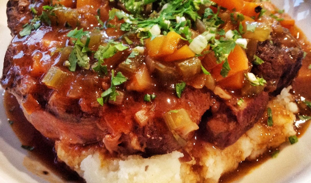 Osso buco braised veal shin by jamie oliver the cook twit - Cuisine italienne osso bucco ...