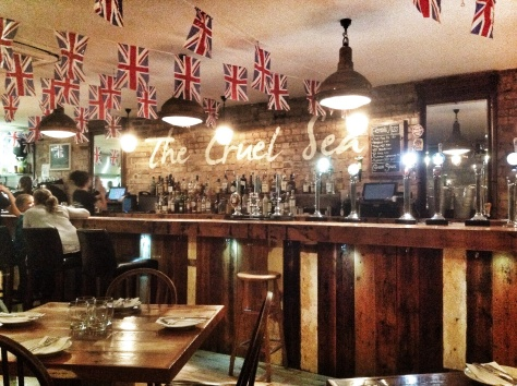 The rustic bar, great atmosphere