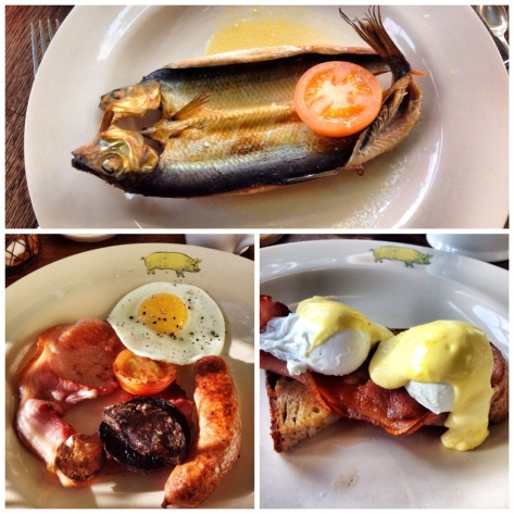 Kippers, The Pig Out, Eggs Benedict
