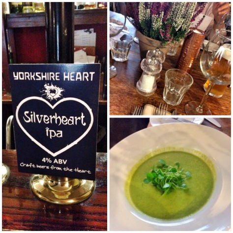Sweetheart and pea water soup